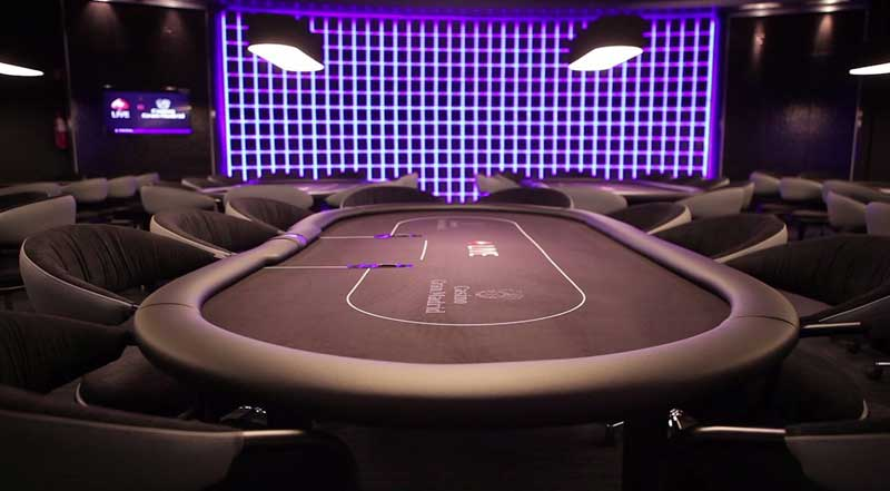 offline poker room