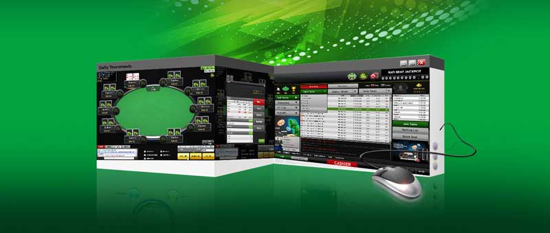 online poker software